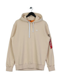 Alpha Industries X Fit Hoodie Camel Beige