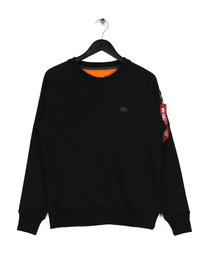 Alpha Industries X Fit Sweat Black