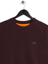 Alpha Industries X Fit Sweat Maroon