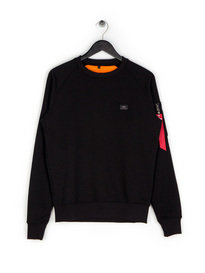 Alpha Industries X-Fit Sweat Top Black