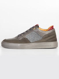 Android Homme Omega Low Trainer Caviar Grey