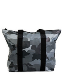 Rains AOP Tote Bag Camo Grey