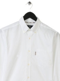 Aquascutum Ashford Long Sleeve Oxford Shirt White