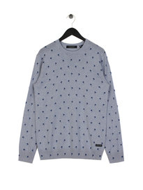 Scotch & Soda Classic Crewneck Pullover Blue