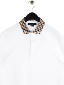 Aquascutum Coniston Polo White