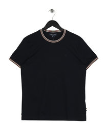 Aquascutum Dorval Short Sleeve T-Shirt Navy