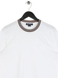 Aquascutum Dorval Short Sleeve T-Shirt White
