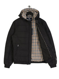 Aquascutum Douglas Padded Jacket Black