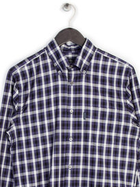 Aquascutum Emsworth Long Sleeve Cc Shirt Navy