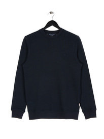 Aquascutum Oliver Crew Sweat Top Navy