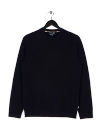 Aquascutum Pennington CC Elbow Knit Navy