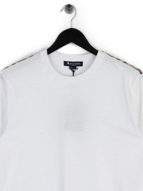 Aquascutum Southport CC Shoulder T-Shirt White