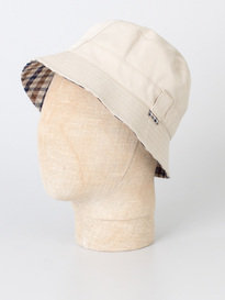 Aquascutum Reversible Bucket Hat Beige