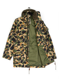 Ark Air Ridgeback Smock Jacket Gold Camo