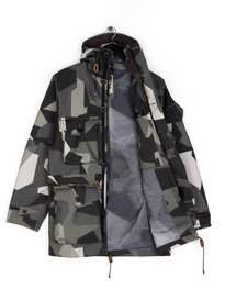 Ark Air Ridgeback Smock Jacket Grey Camo