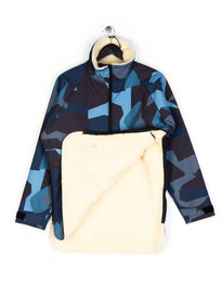 Ark Air Shapeshifter Mammoth Jacket Blue Camo