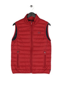 Armani Jeans Down Gilet Red