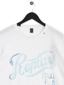 Replay Herren T-Shirt White