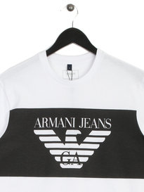 Armani Jeans Eagle T-Shirt White