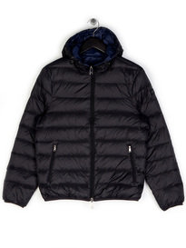 Armani Jeans Reversible Puffa Jacket Black