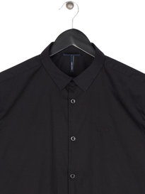 Armani Jeans SF Long Sleeve Shirt Black