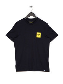 Armani Jeans Small Box Eagle T-Shirt Navy