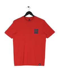 Armani Jeans Small Box Eagle T-Shirt Red