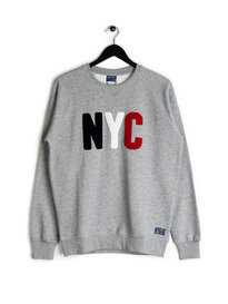Balzac NYC Sweat Top Grey