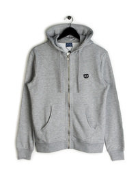 Balzac Panda Patch Hooded Sweat Grey