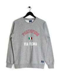 Balzac Via Roma Portofino Sweat Top Grey