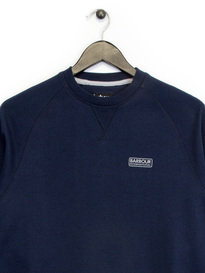 Barbour B.Intl Small Logo Sweat Top Navy