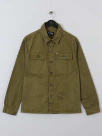 BARBOUR AINTREE OVERSHIRT GREEN