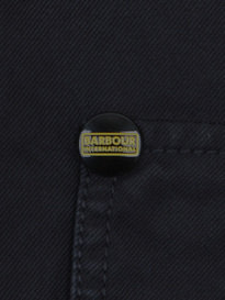 BARBOUR AINTREE OVERSHIRT NAVY