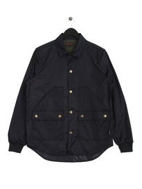 Barbour Alan Overshirt Navy