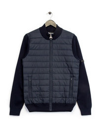 Barbour B.Intl Cadwell Zip Up Knit Navy