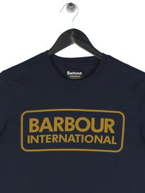 Barbour B.Intl Essential Large Logo t-Shirt Navy