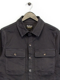Barbour B.Intl Hyatt Overshirt Grey