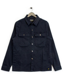 Barbour B.Intl Hyatt Overshirt Navy