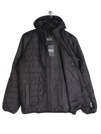 Barbour B.Intl Level hooded Jacket Black