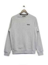 Barbour B.Intl Small Logo Sweat Top Grey