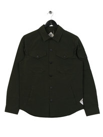 Barbour Beacon Askern Overshirt Green
