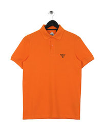 Barbour Beacon Polo Shirt Orange