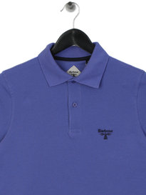Barbour Beacon Polo Shirt Purple