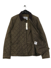 Barbour Beacon Starling Quilted Jacket Olive Green