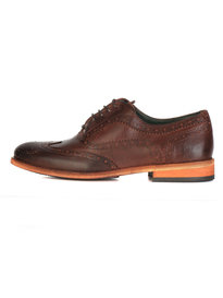 Barbour Beale Brogue Brown Shoes