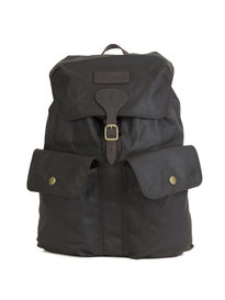 Barbour Beaufort Wax Backpack Green