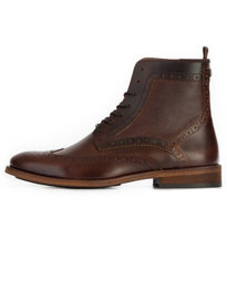 Barbour Belford Boot Mahogany Brown