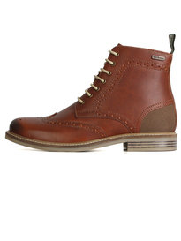 Barbour Belsay Boot Chestnut Brown