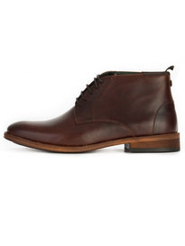 Barbour Benwell Boot Mahogany Brown