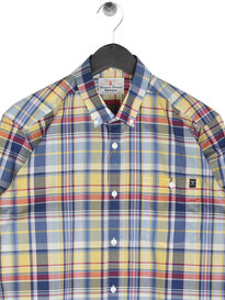 Barbour Biggin Shirt Yellow